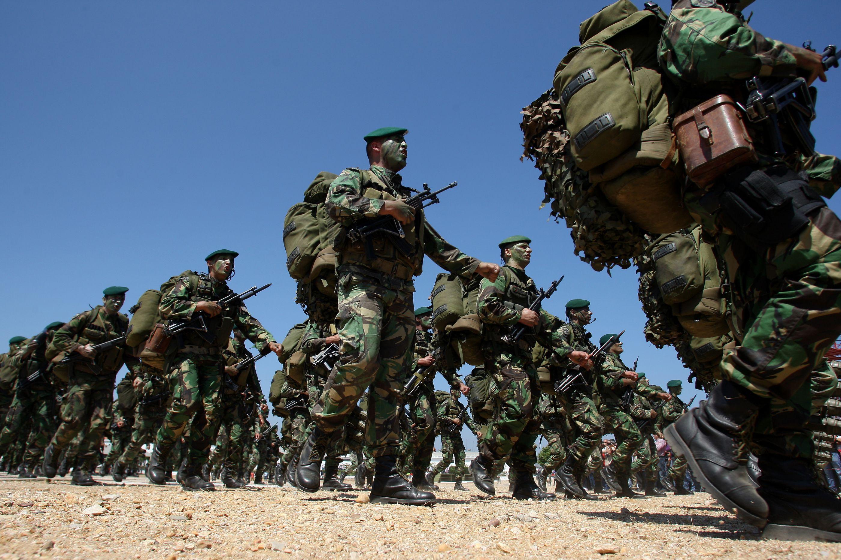 Gestão das estruturas foi maior dificuldade de exercício militar