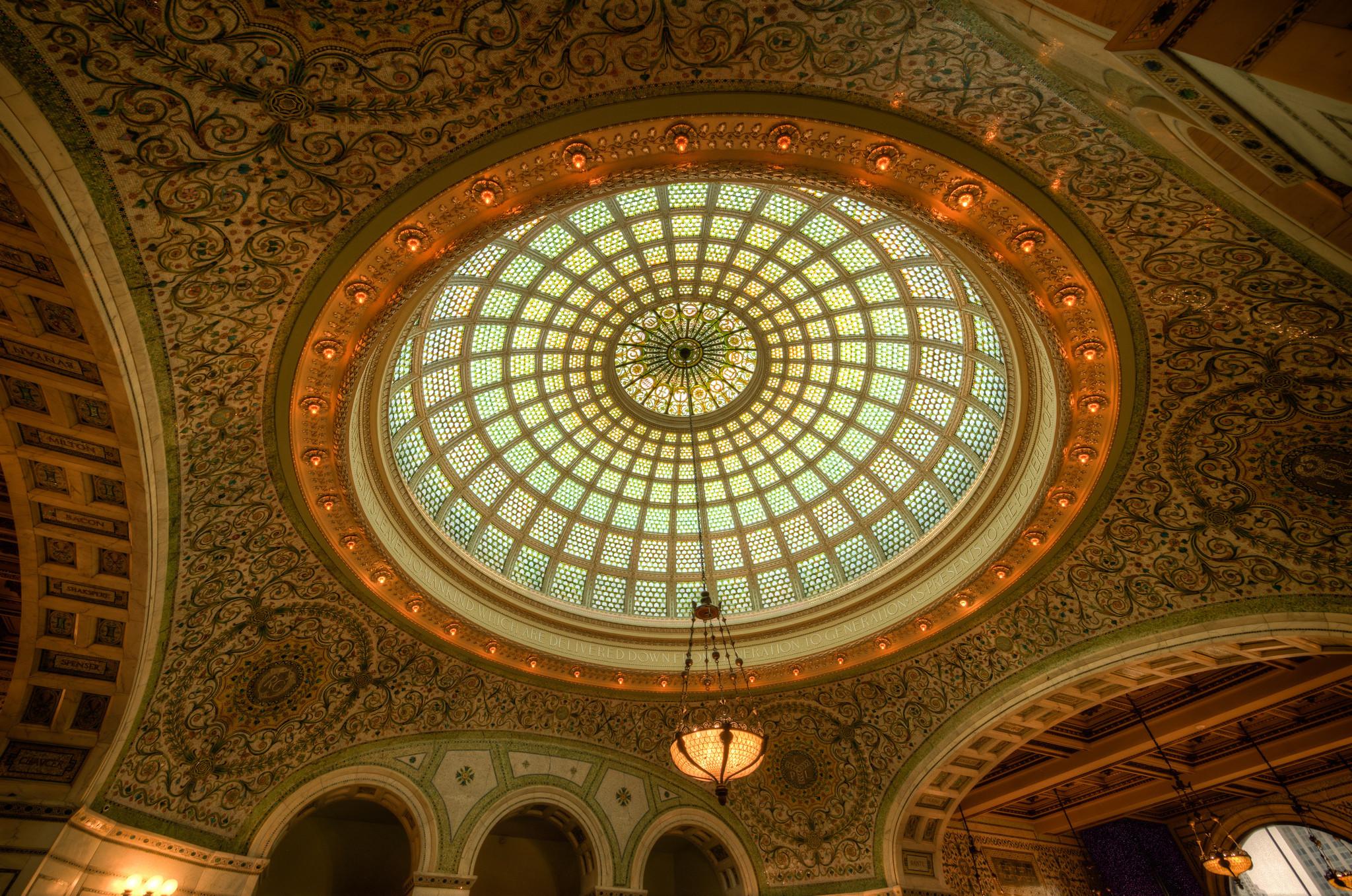 Quando a beleza está no teto, a regra é só uma: Deixar-se deslumbrar