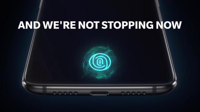 Vídeo mostra o novo sensor de impressões digitais do OnePlus 6T