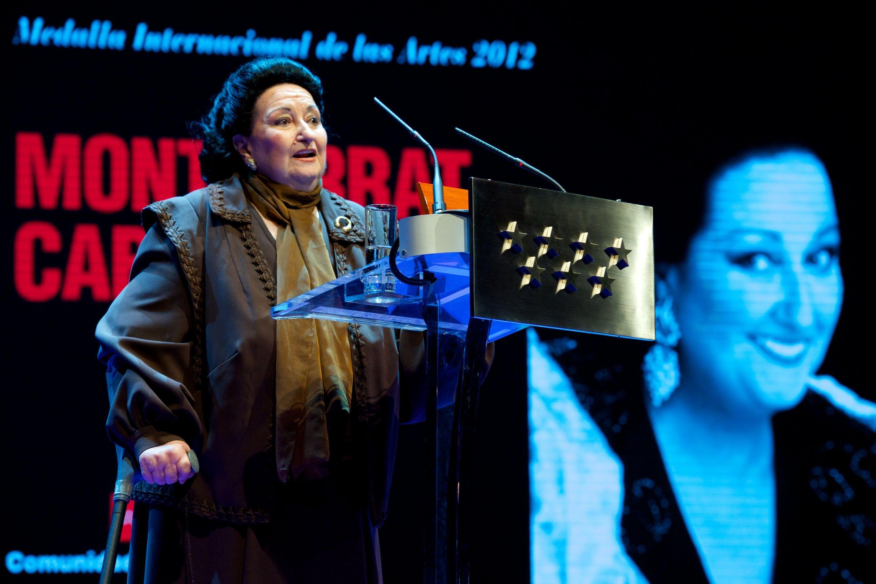 Morreu a cantora espanhola Montserrat Caballé
