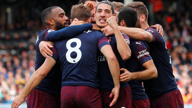 Atenção Sporting: Rolo compressor do Arsenal atinge nona 'vítima'