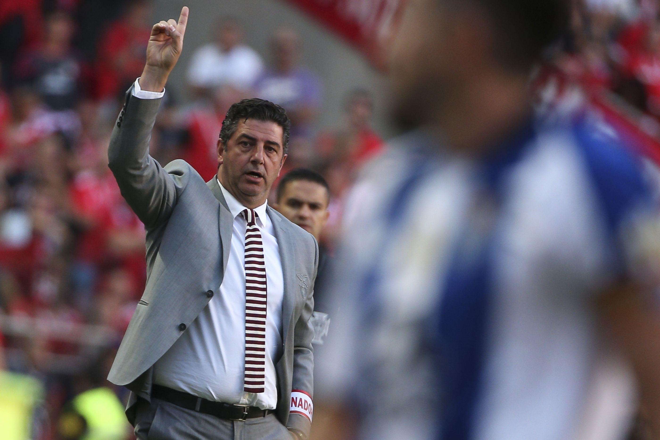 """Rui Vitória atira: """"Neste momento, o Benfica é passado"""""""