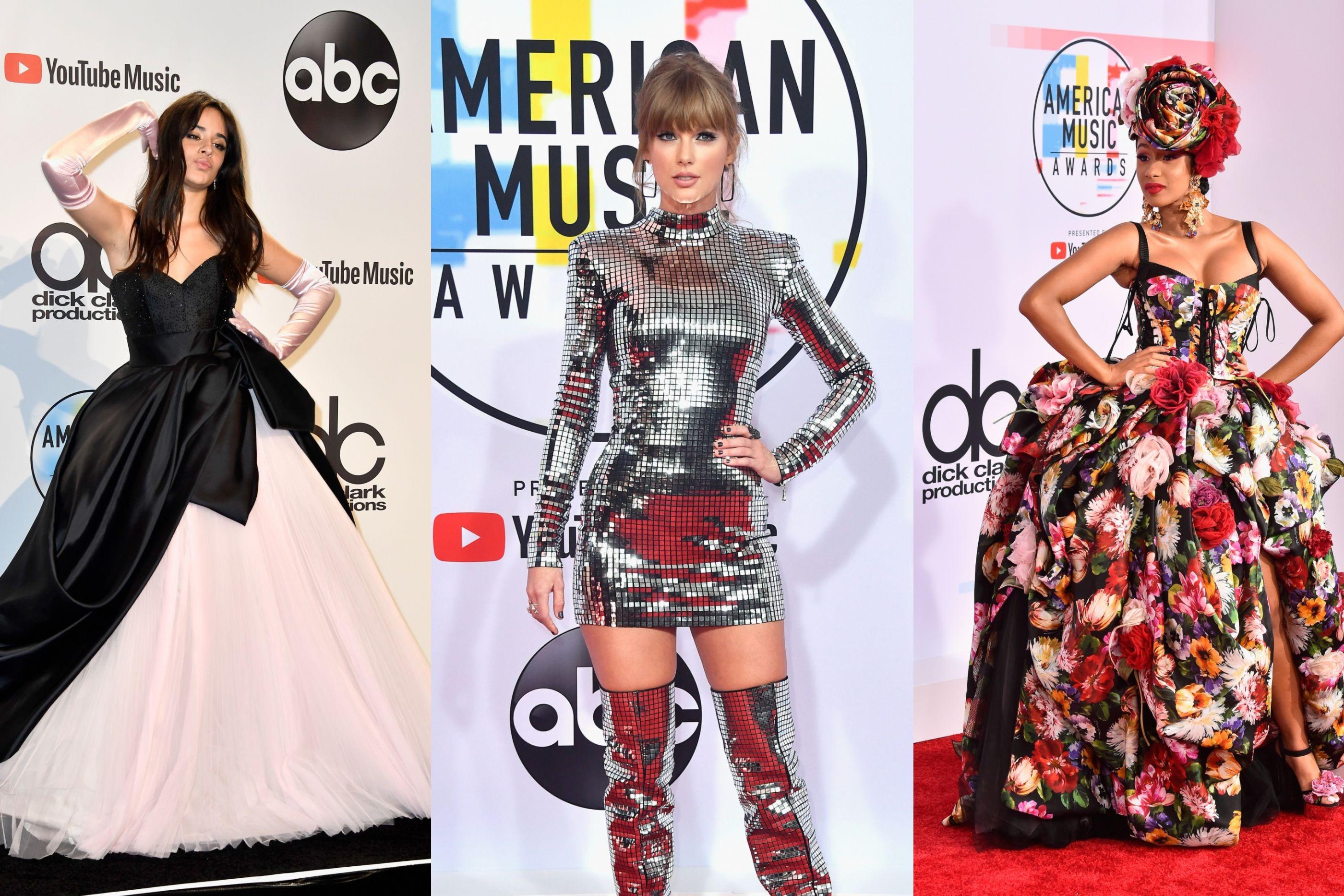 American Music Awards: Os visuais da passadeira vermelha