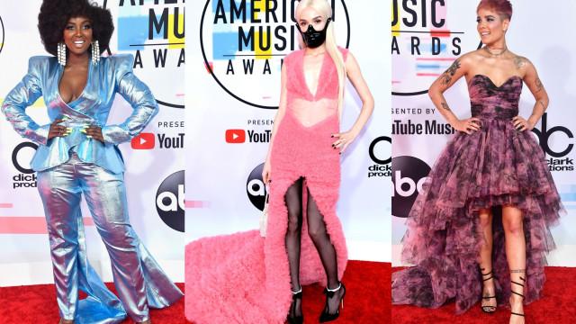 Os famosos mais mal vestidos nos American Music Awards