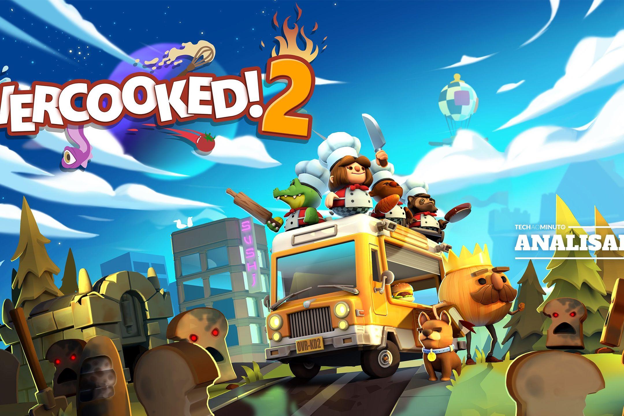 Overcooked 2: O jogo que testa relacionamentos e amizades... na cozinha