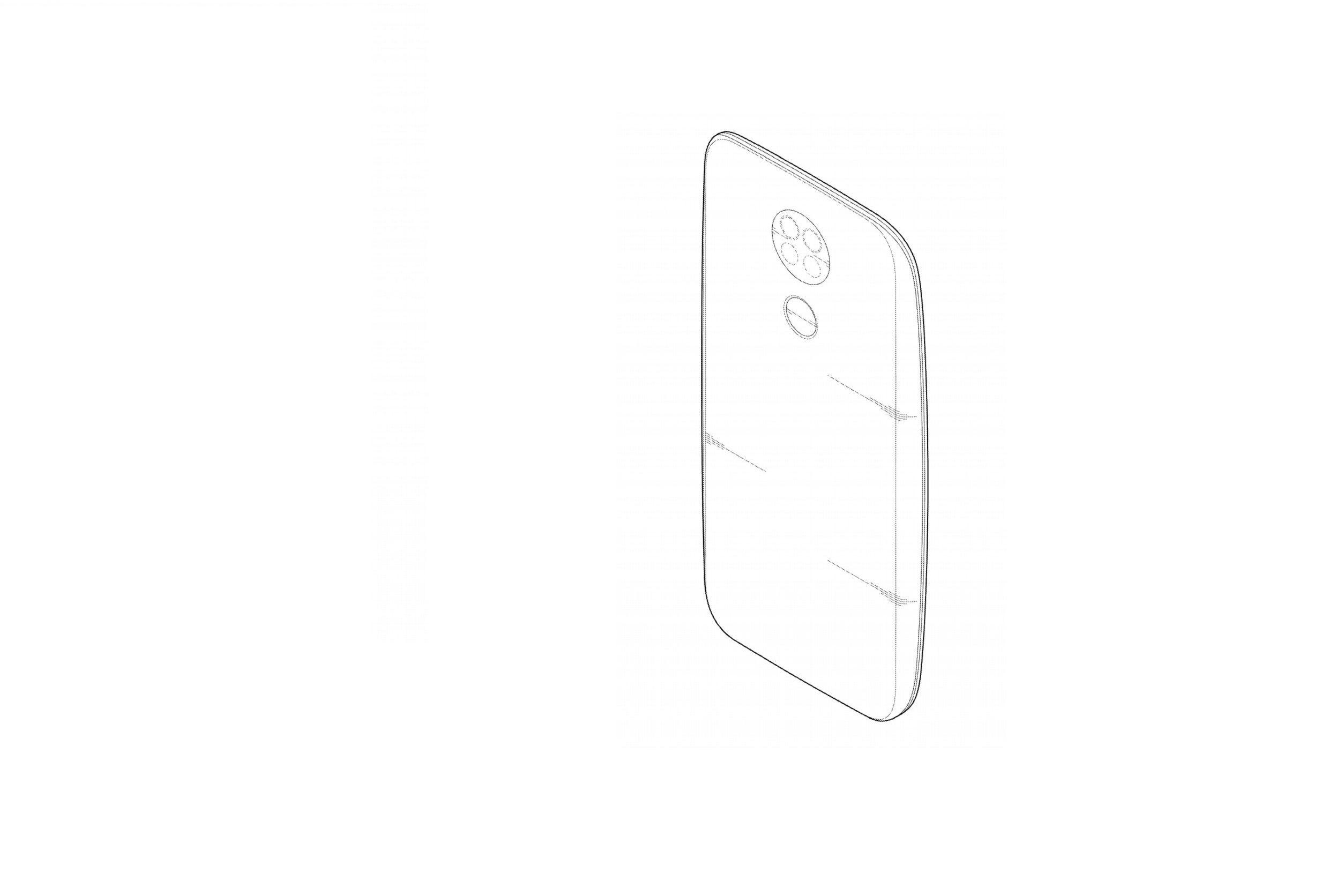 Patente da LG revela smartphone de sete câmaras