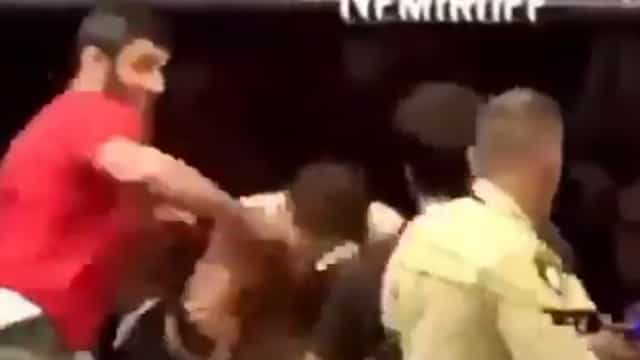 Surgiram novas imagens da agressão a McGregor