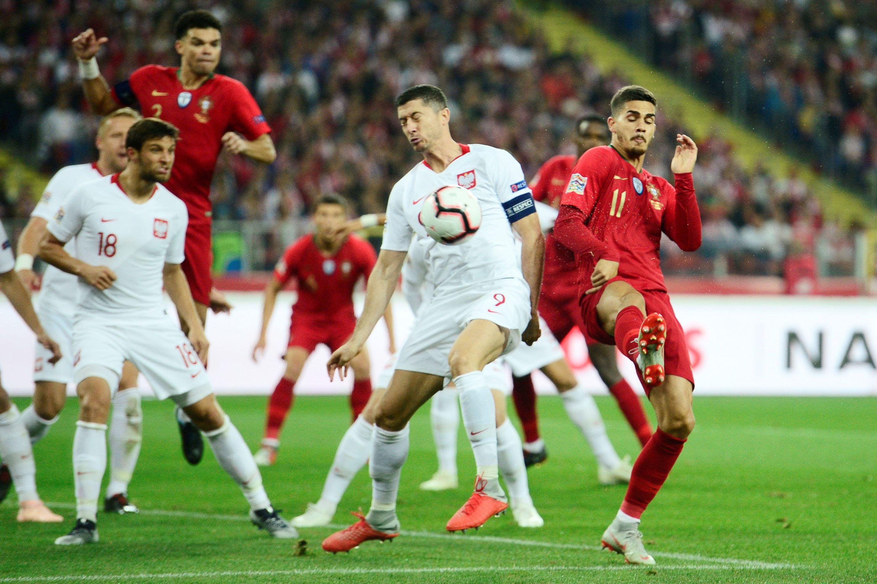 [1-2] Portugal consegue reviravolta e empata à beira do intervalo