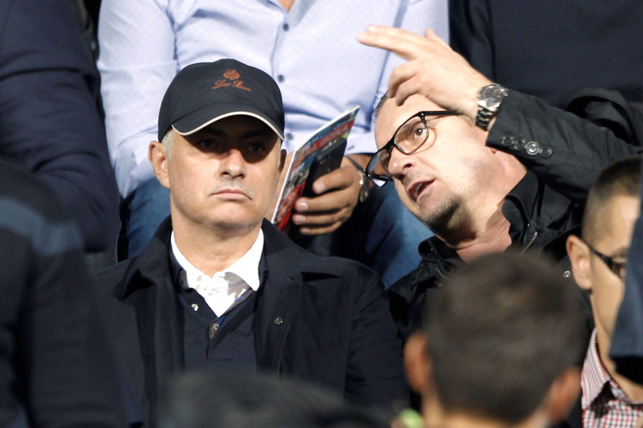 Mourinho marcou presença no duelo inédito entre Montenegro e Sérvia