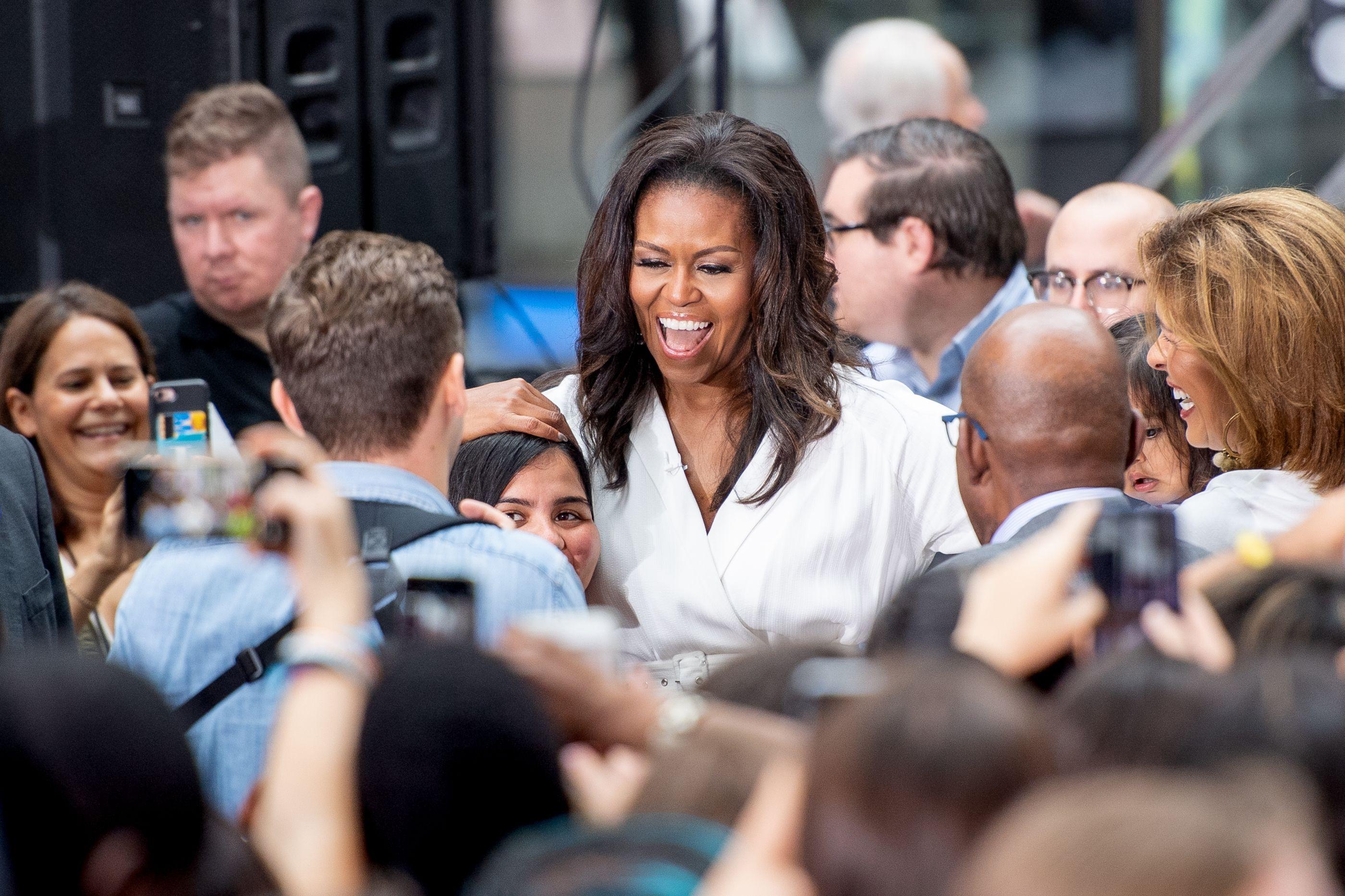 Michelle Obama sofre de 'síndrome do impostor', confessa a própria