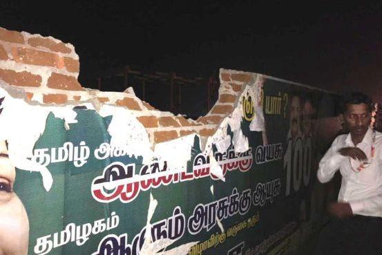 Avião embate em parede ao descolar na Índia. Pilotos suspensos