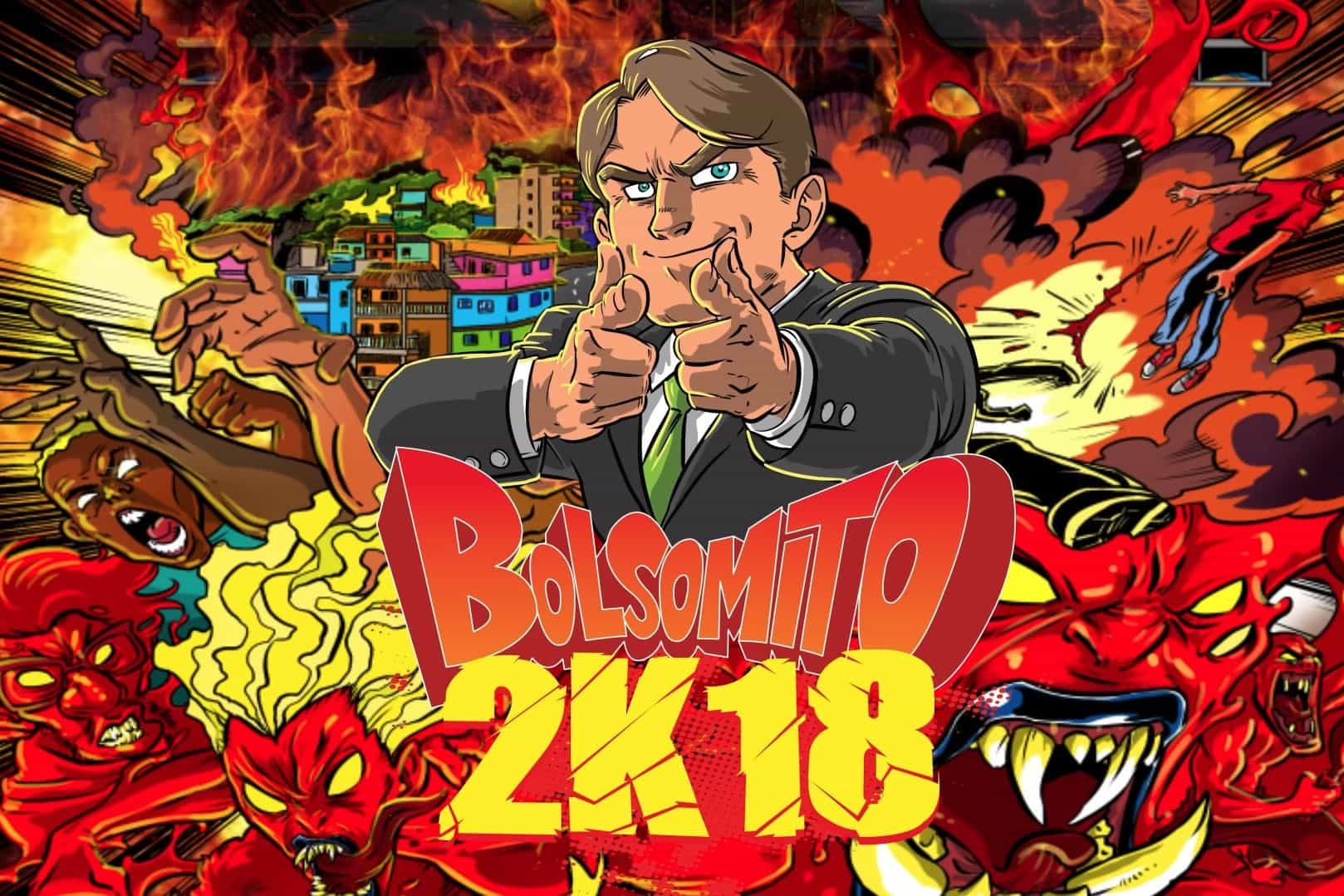 Brasil pede remoção de jogo violento inspirado em Bolsonaro
