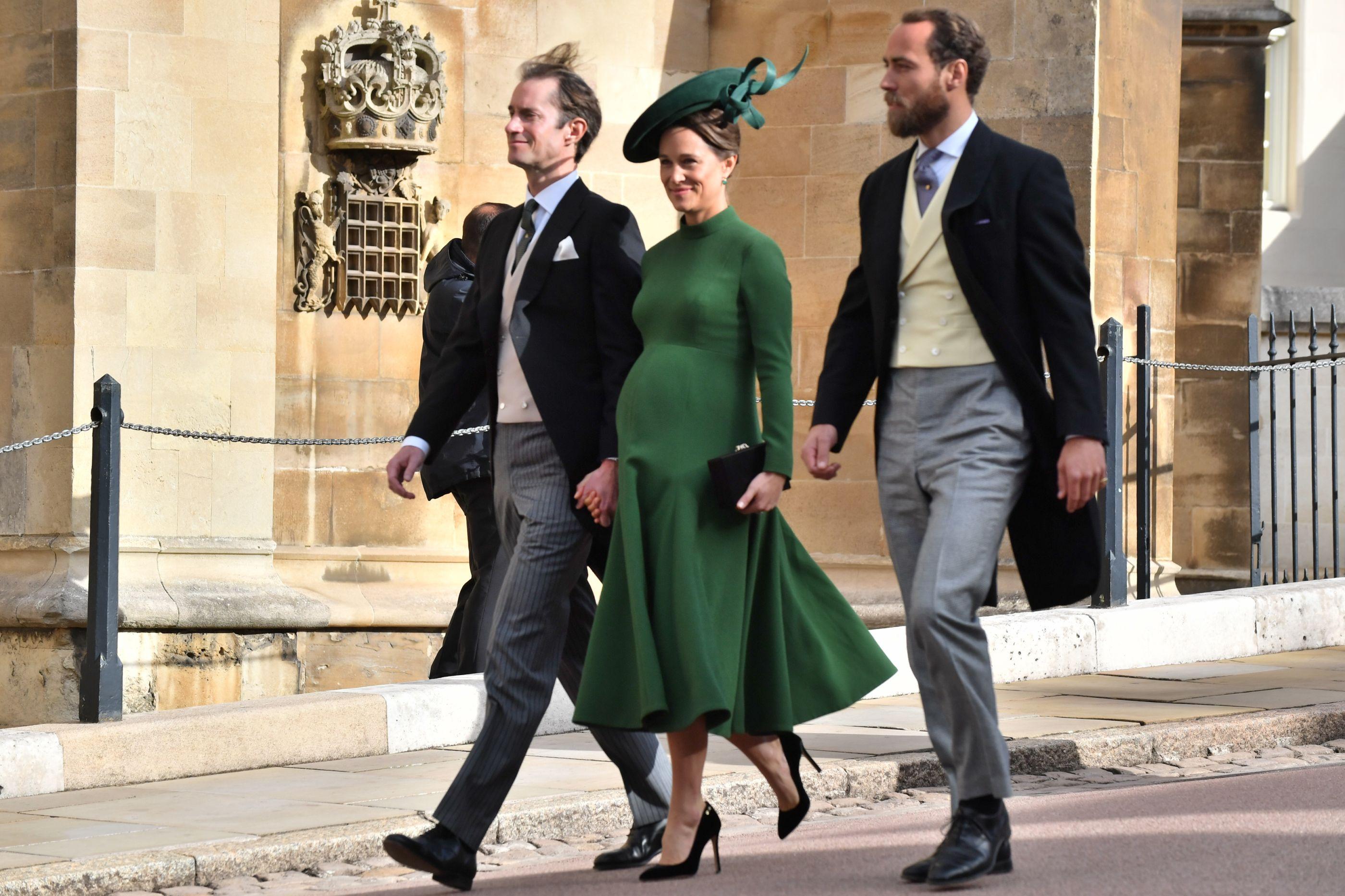 Prestes a dar à luz, Pippa Middleton vai a casamento real