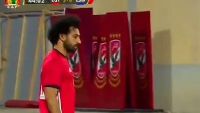 Marcar de canto direto? Salah aceitou o desafio... contra a Suazilândia