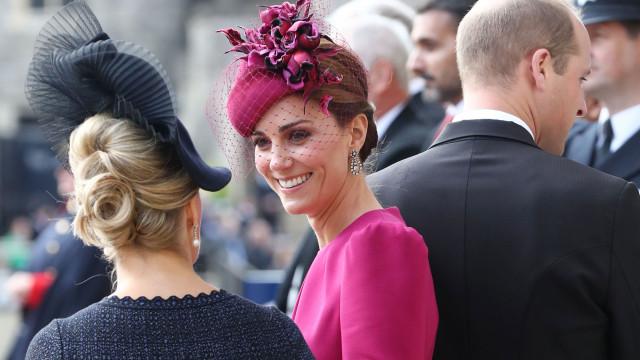 Ops! Por pouco Kate Middleton não mostrou mais do que devia em casamento