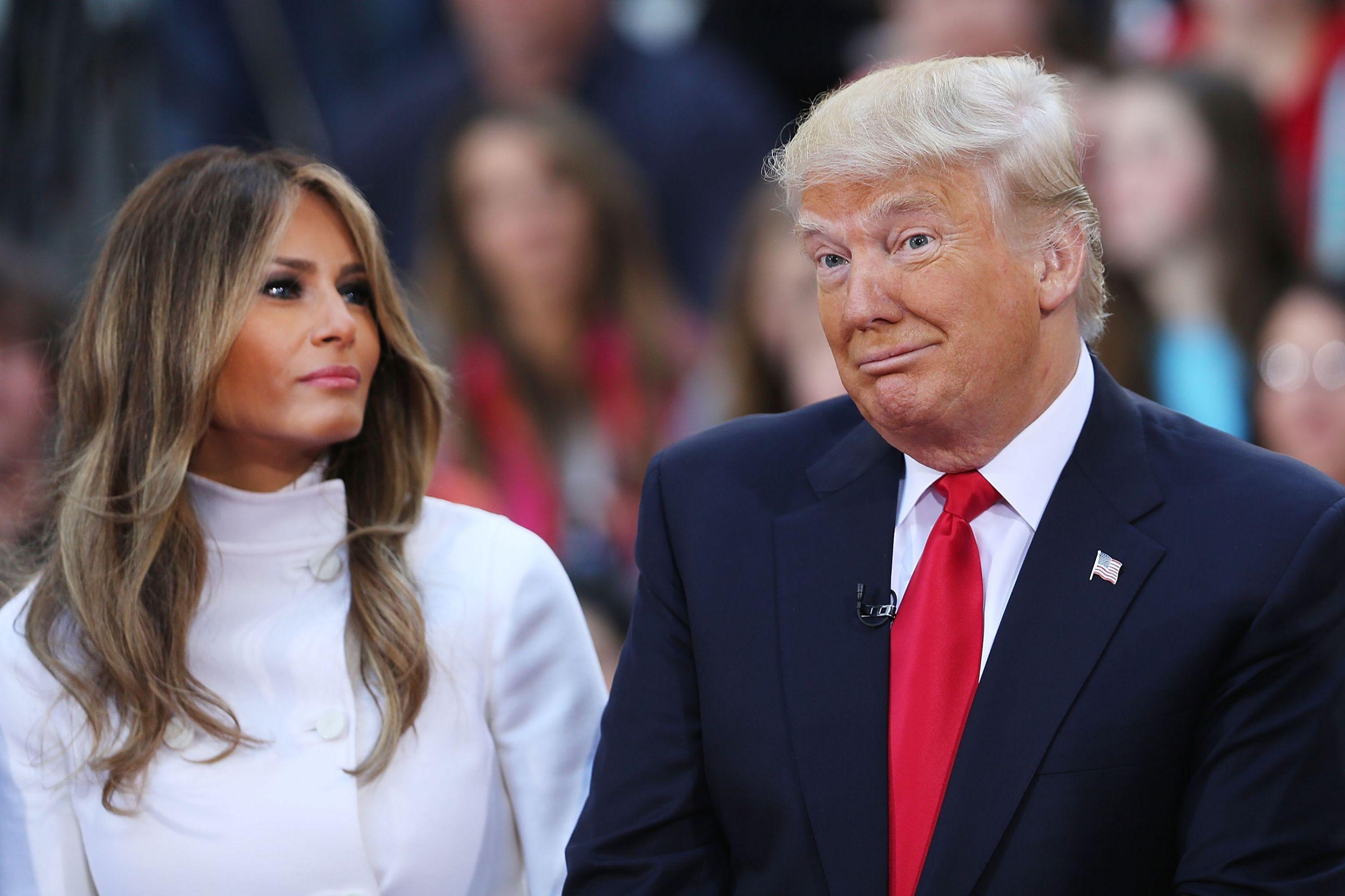 """Melania Trump diz que alegadas traições não são uma """"preocupação"""""""