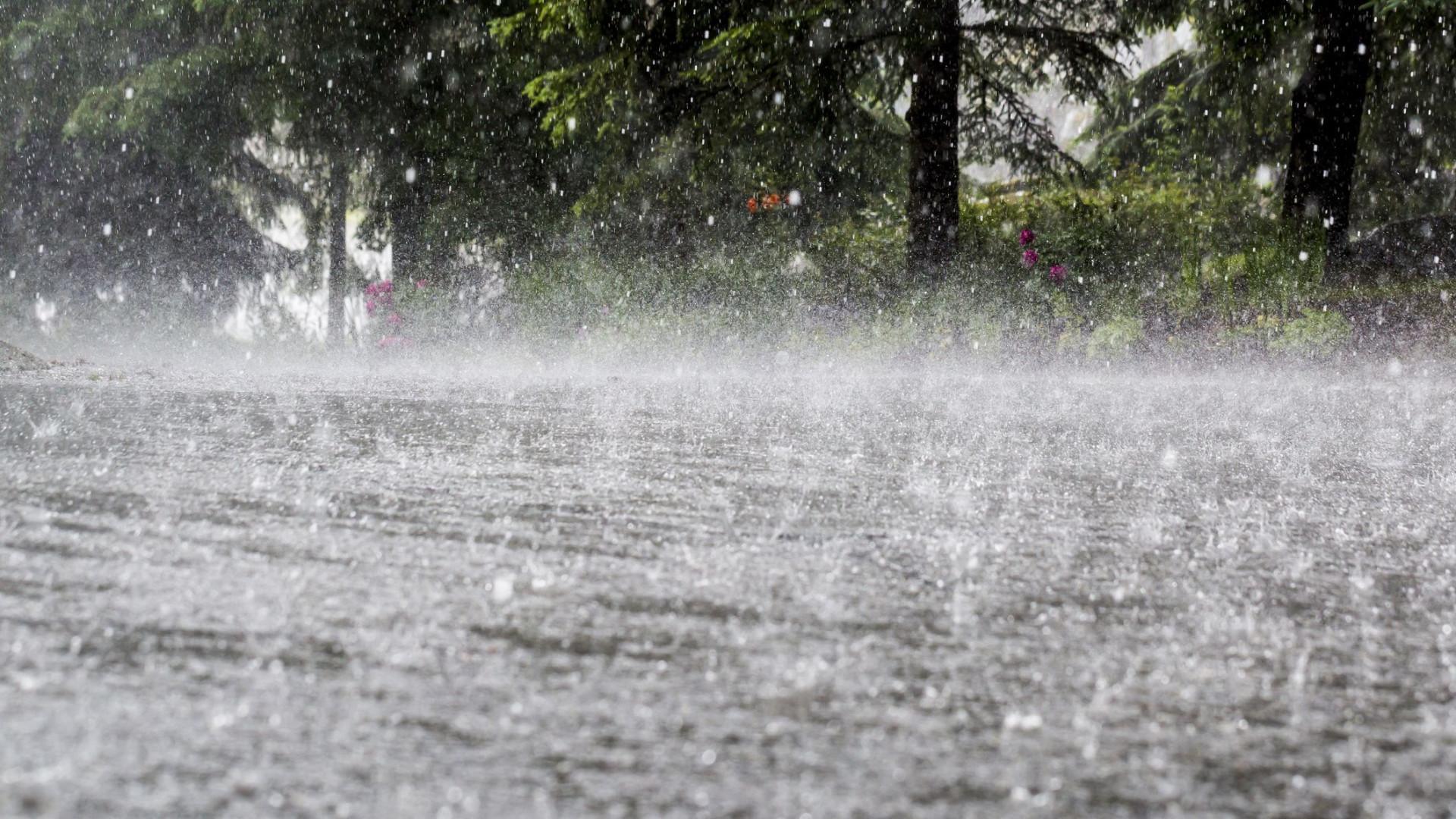 Chuva voltou este domingo. Temperaturas voltam a subir amanhã