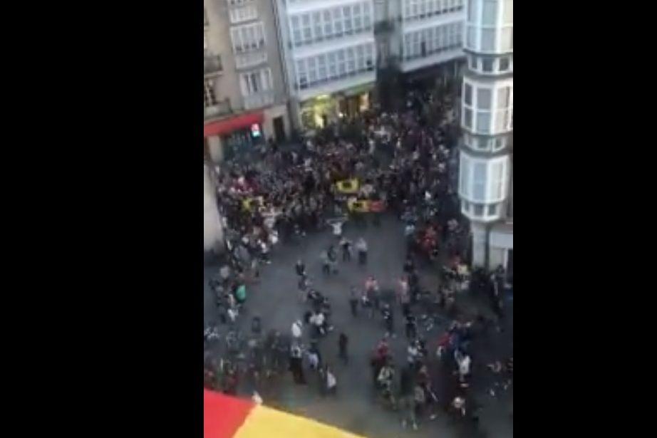 """""""Fascismo em estado puro"""": O vídeo que já se tornou viral no País Basco"""