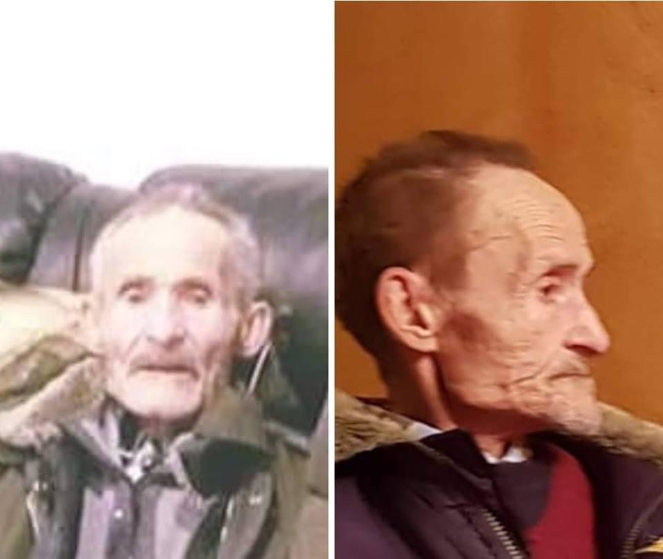 Idoso desaparecido em Tarouca. Família pede ajuda