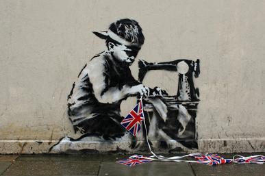 Leiloeira vai vender obras de Banksy apesar do risco de autodestruição