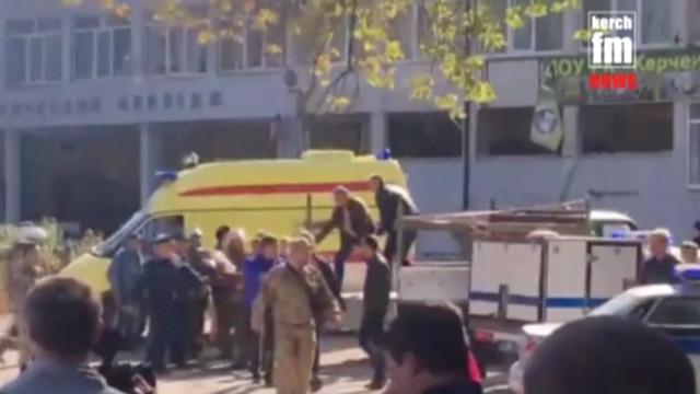 Estudante foi responsável por tiroteio na Crimeia que fez 17 mortos