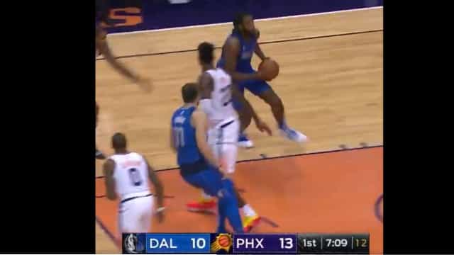 Magia de Doncic 'enlouquece' a NBA e a jogada já é viral