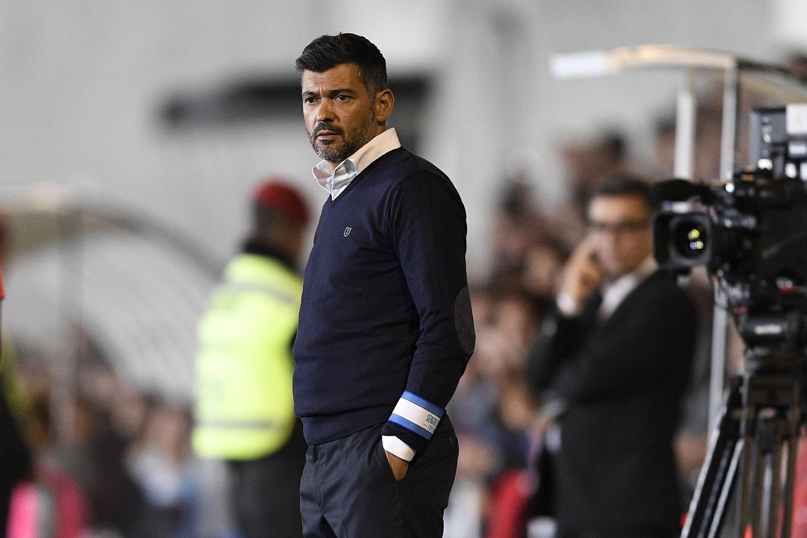 Feirense-FC Porto: Conceição repete receita da Champions