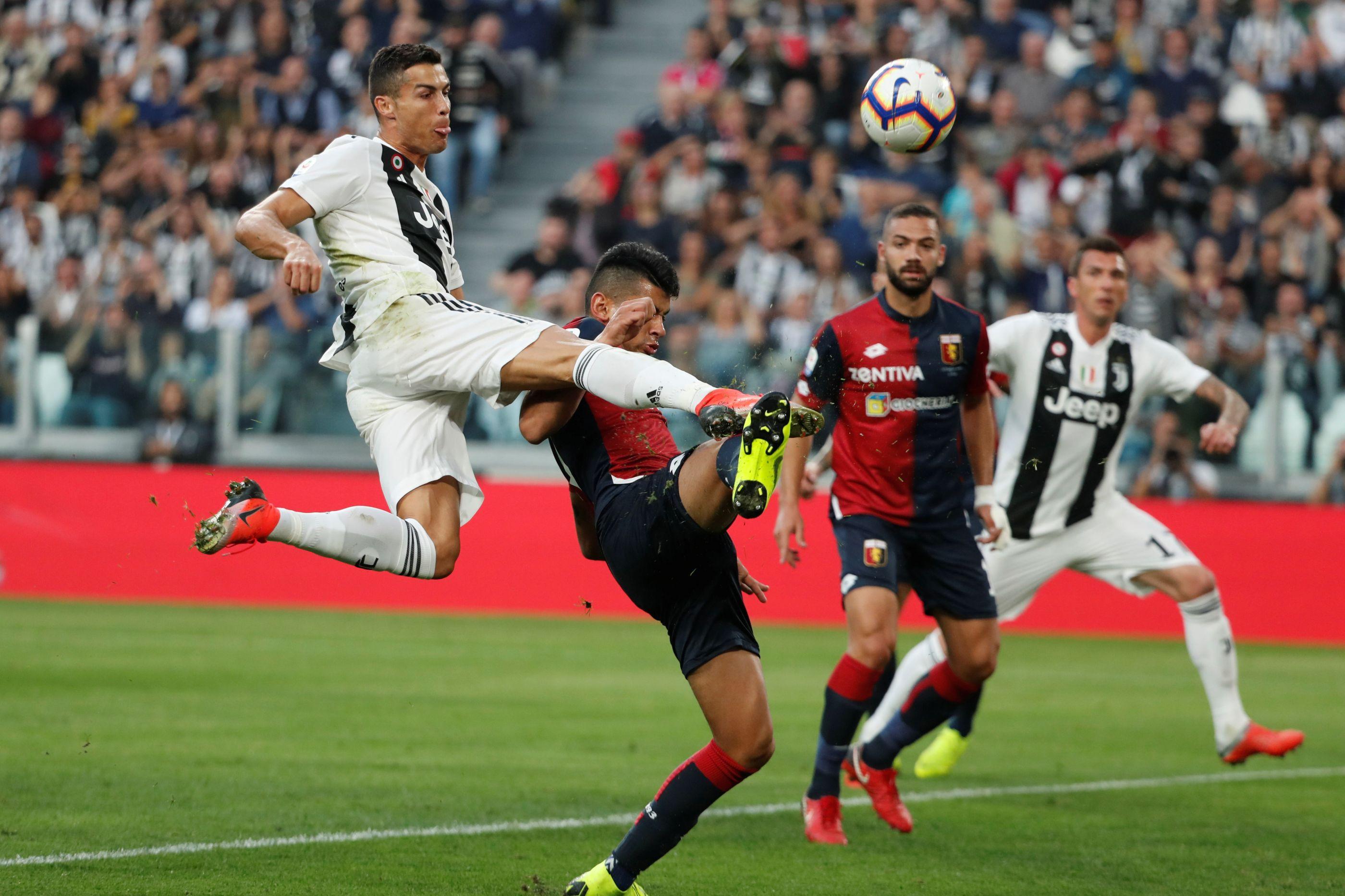 Golo de CR7 não impediu a primeira perda de pontos da Juventus