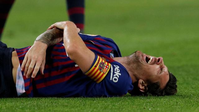 Valores do negócio revelados: Messi recusou 'oferta astronómica' do City