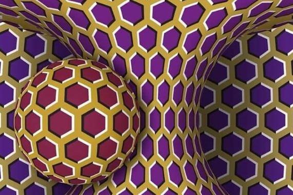 Esta imagem mexe-se ou o cérebro está a pregar-lhe uma partida?