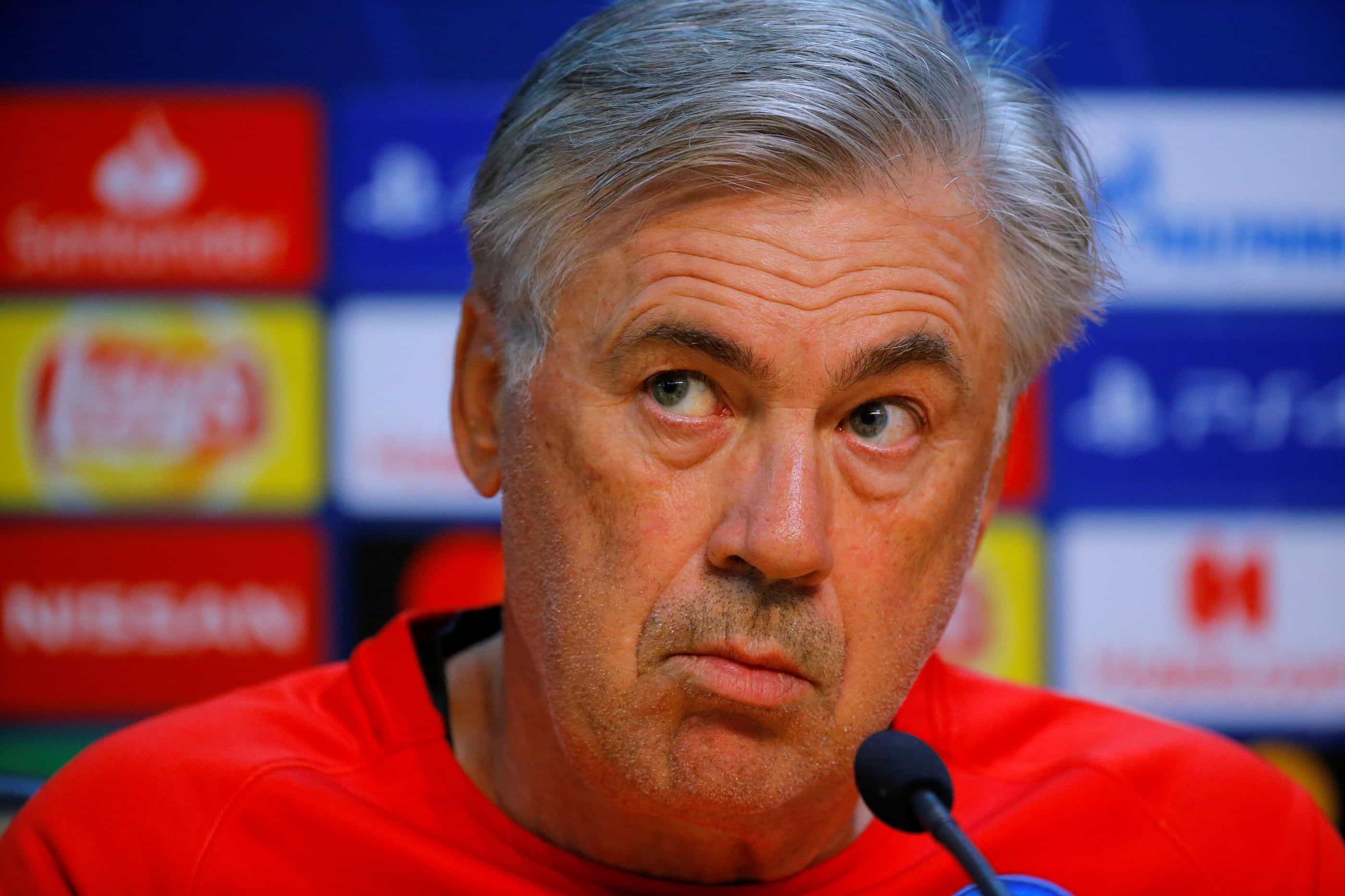 """Carlo Ancelotti: """"Seu fosse treinador do PSG, atirava-me de uma ponte"""""""