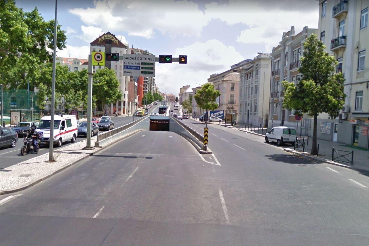 Vários equipamentos de segurança estão avariados em túnel de Lisboa