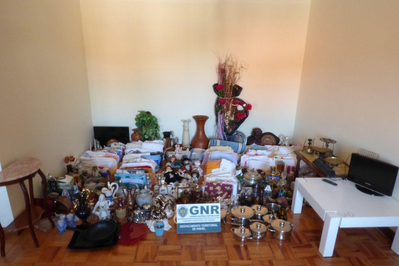 Recuperados 750 artigos roubados de casas e avaliados em 30 mil euros