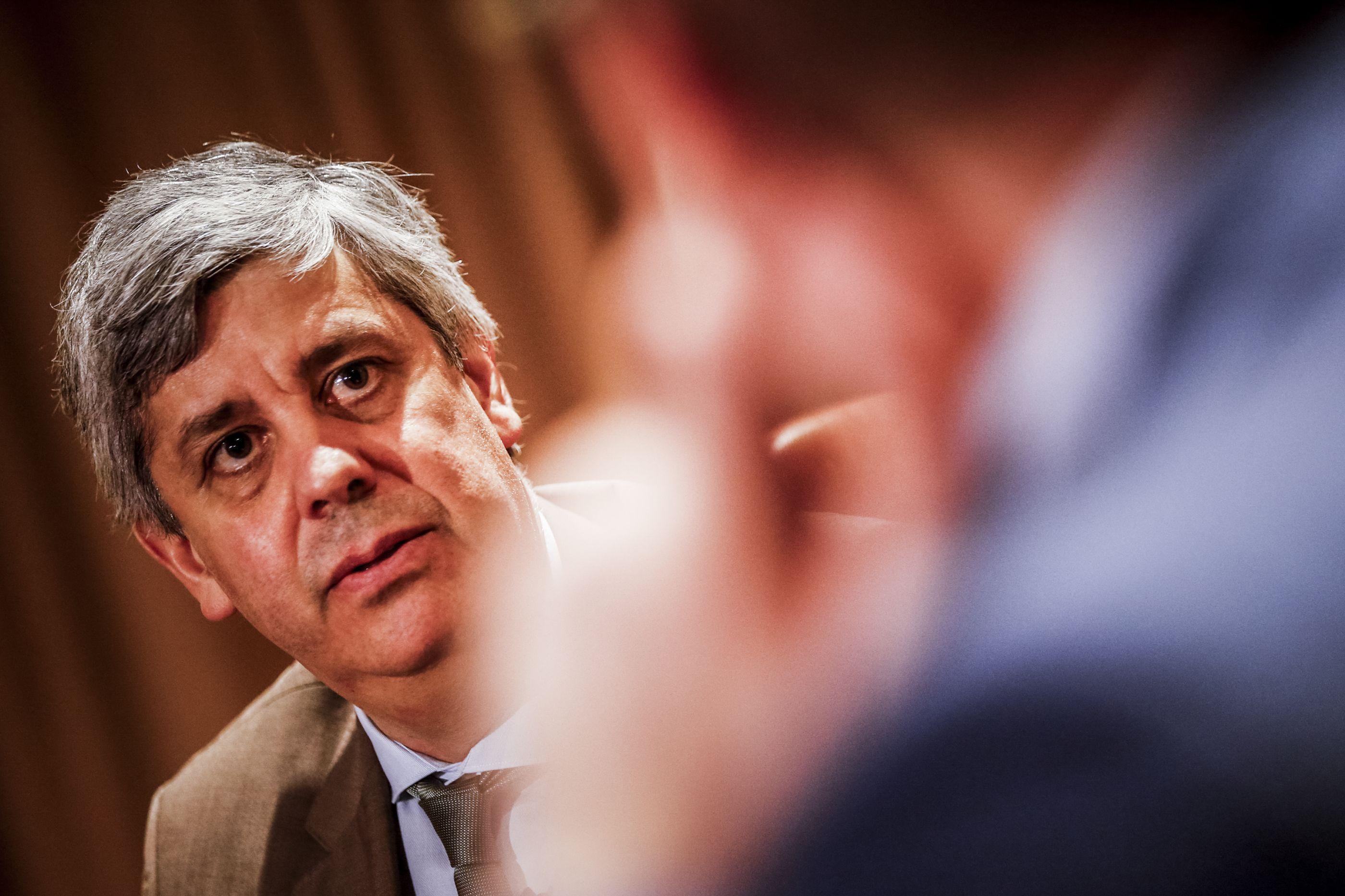 """Centeno faz """"balanço positivo"""" do seu 1.º ano após eleição para Eurogrupo"""