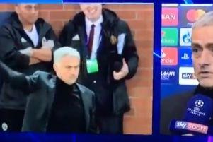 Adeptos da Juventus provocaram... e Mourinho respondeu assim