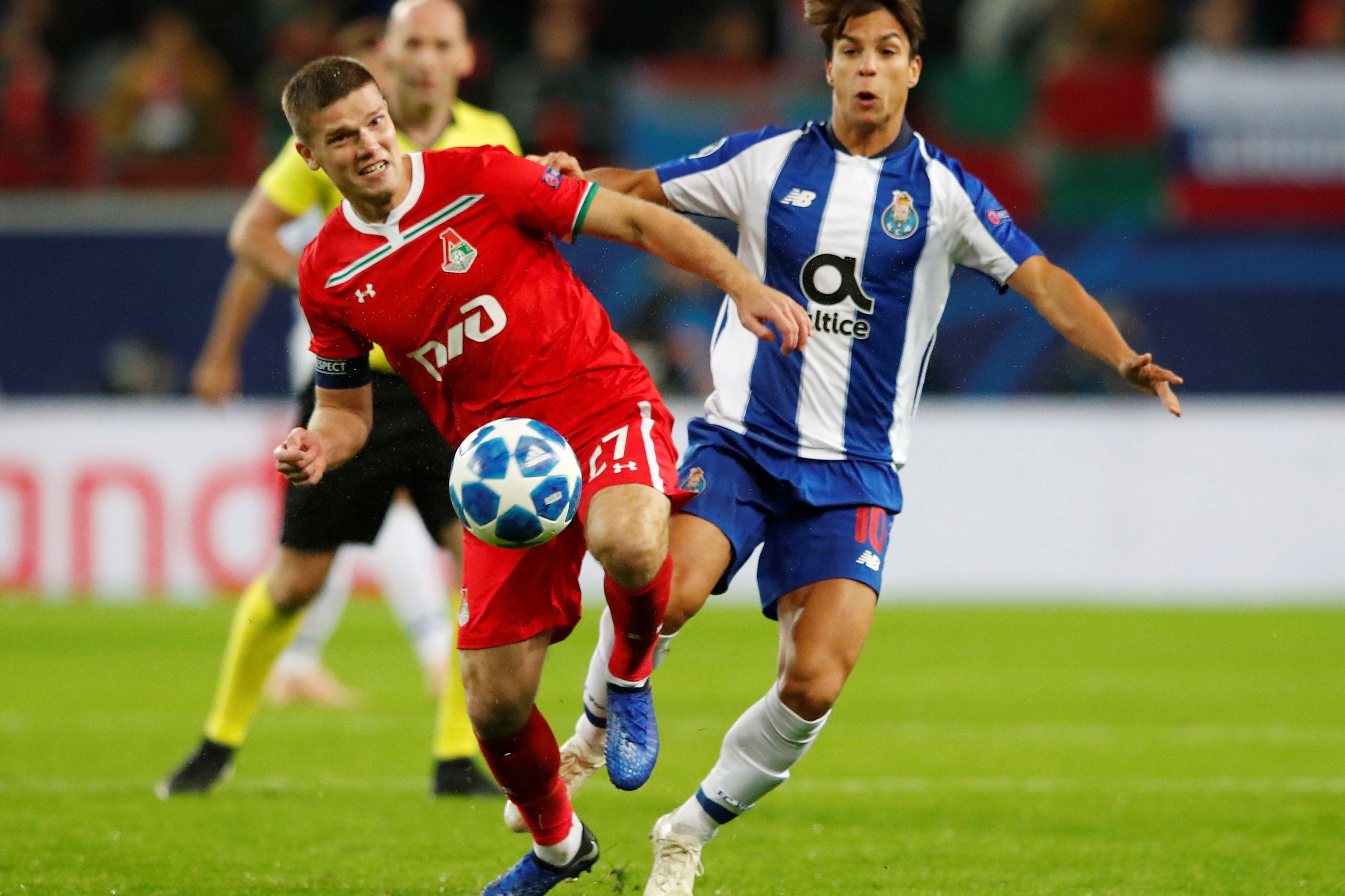 [0-1] Lokomotiv-FC Porto: Marega inaugura o marcador