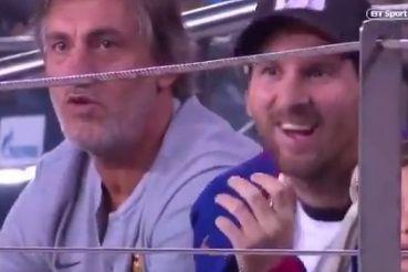 A original forma de defender o livre de Suárez que impressionou até Messi