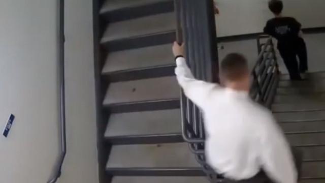 Juiz persegue reclusos que fugiram do tribunal