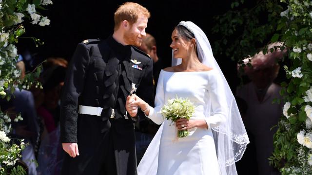 Meghan Markle e Harry revelam detalhes exclusivos sobre o seu casamento