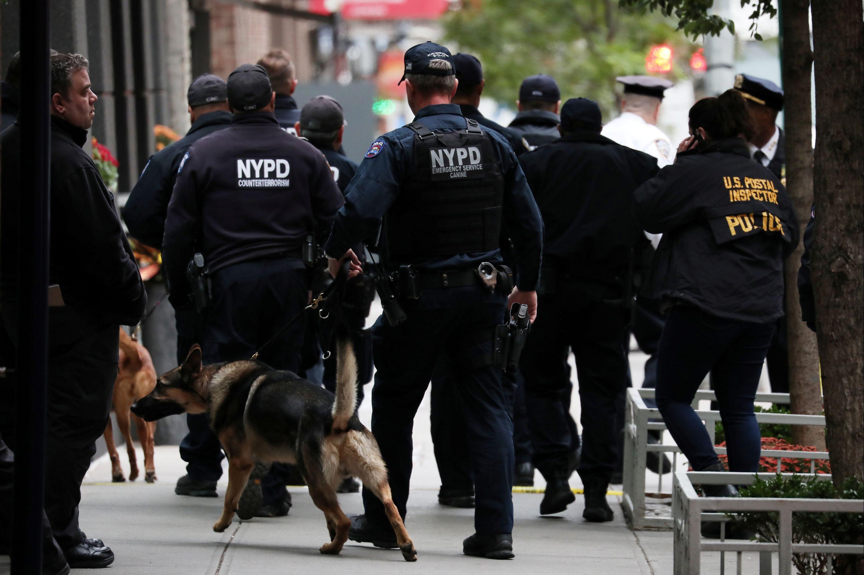 FBI faz primeira detenção relacionada com os pacotes suspeitos