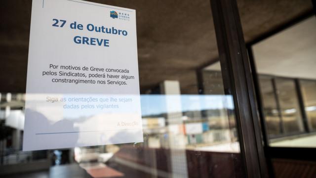 """País assistiu """"à maior greve"""" na Função Pública desde a chegada da troika"""
