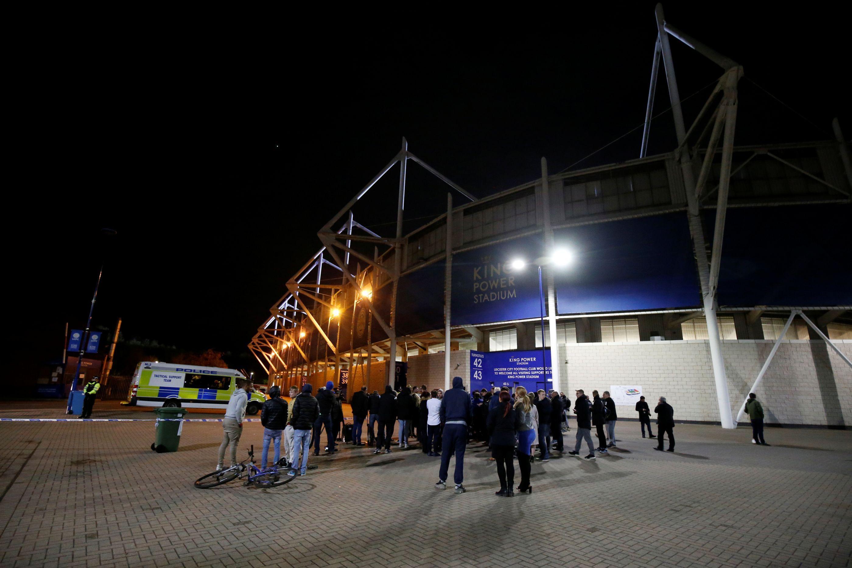 Presidente do Leicester estava no helicóptero que caiu junto ao estádio