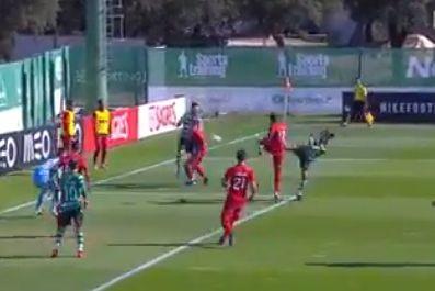Pedro Mendes marca belo golo e Sporting 'pisca o olho' a... Ibrahimovic