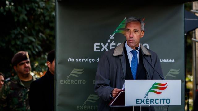 """Tancos: Ministro e CEME apresentam em breve o que """"correu mal"""""""
