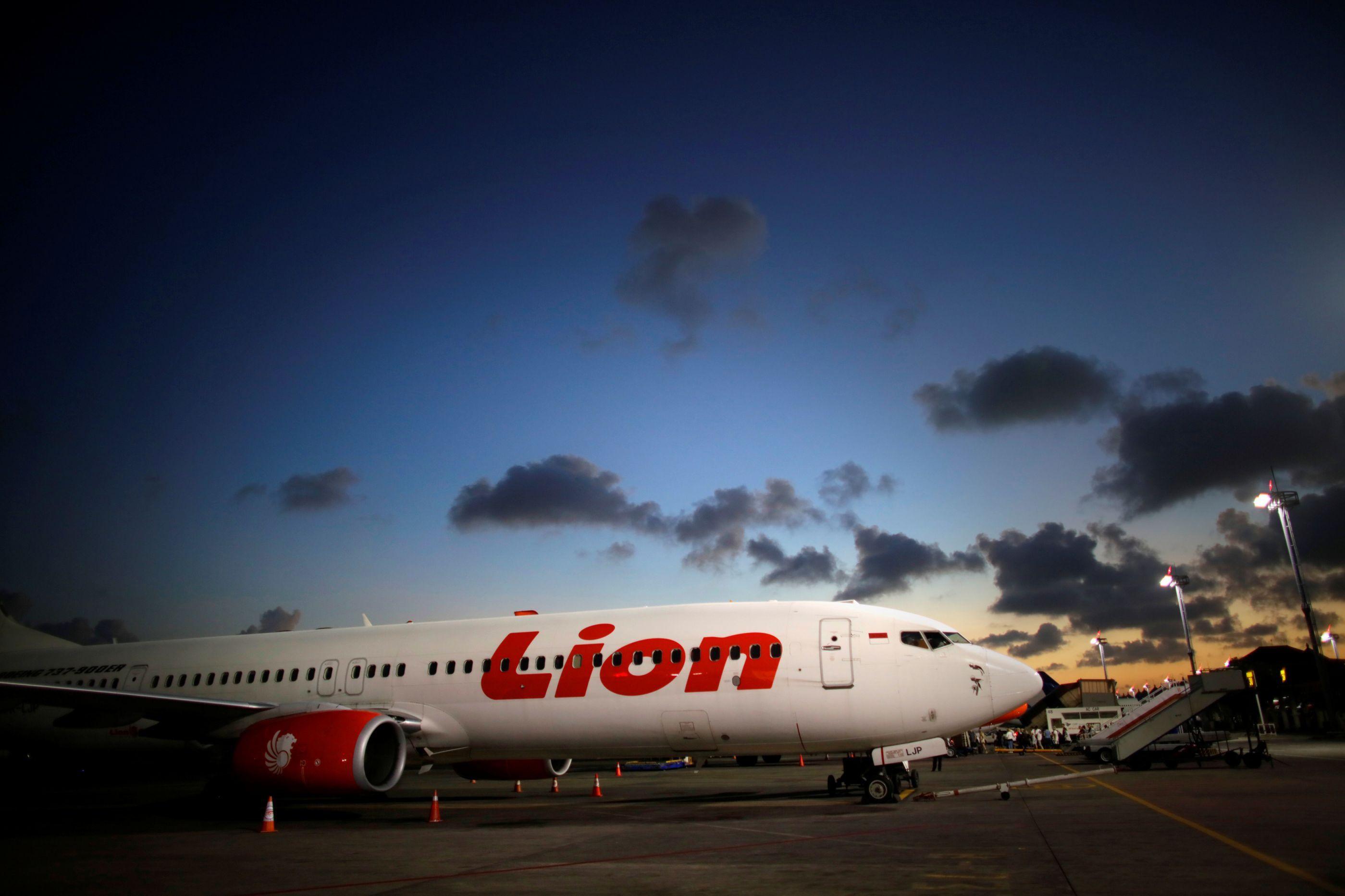 Avião com 189 pessoas a bordo derrapou em pista na Indonésia