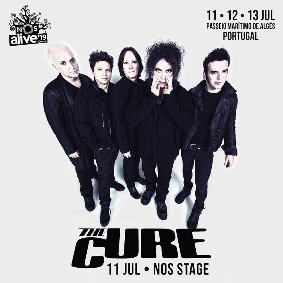 The Cure são a primeira confirmação para o NOS Alive'19