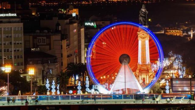 Prepare-se, o Mercado de Natal e roda gigante estão de regresso a Lisboa