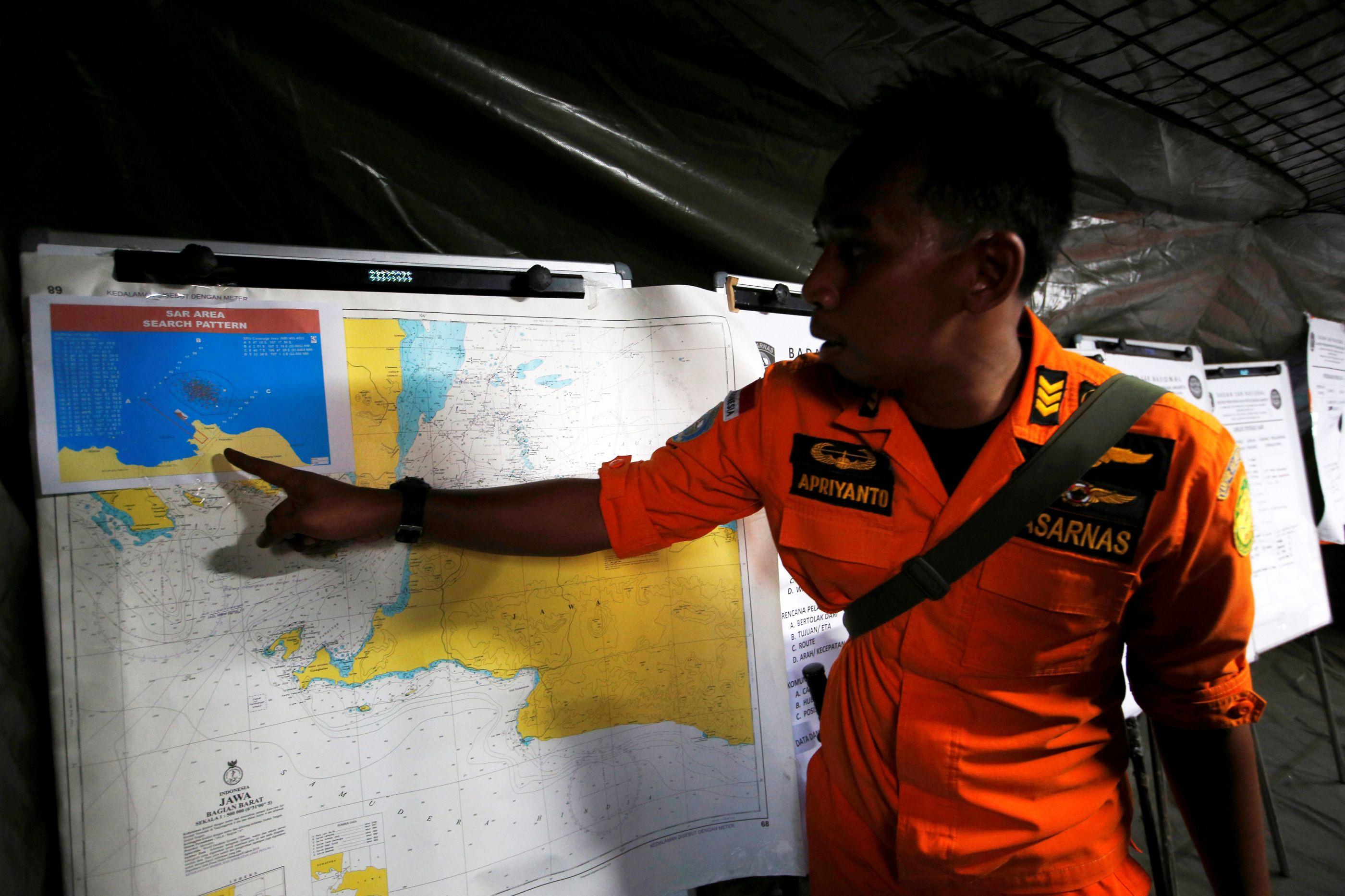 Sinais sonoros detetados são do avião da Lion Air, dizem autoridades