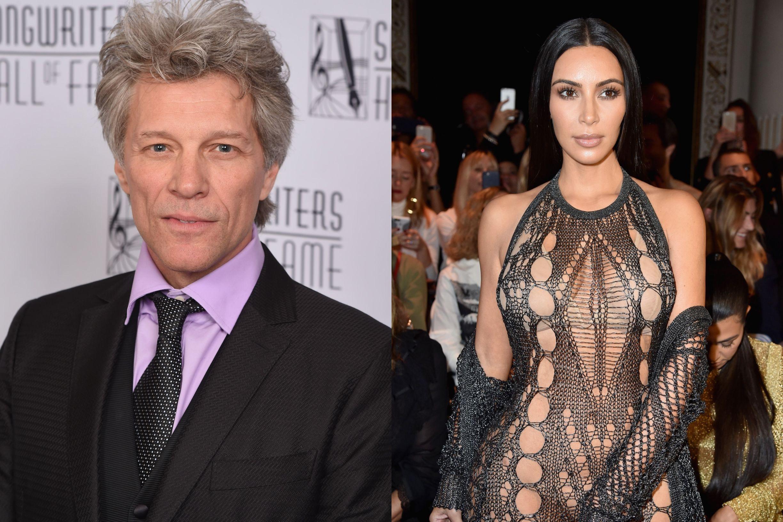 "Jon Bon Jovi para Kim Kardashian: ""Fizeste pornografia e ficaste famosa"""