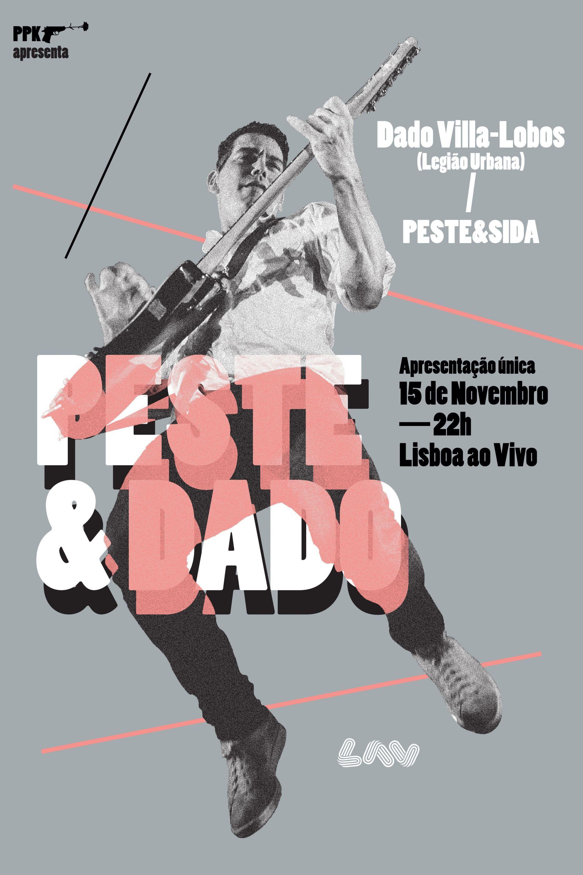 Peste e Dado: O rock em português a juntar dois lados do Atlântico